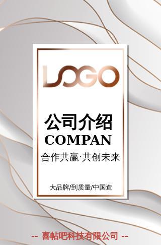 高端商务企业宣传公司简介产品推广品牌介绍画册宣传