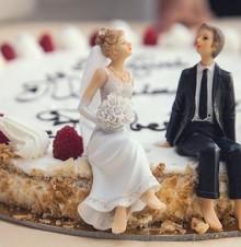 相亲相爱传统新婚祝福语