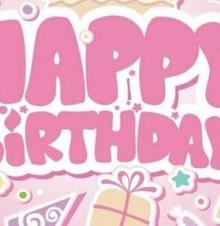 生日快乐 愿此时成为你最美丽的回忆