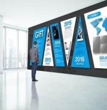 企业文化墙设计中用色有什么技巧呢?