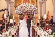 花烛笑迎比翼鸟结婚祝福语