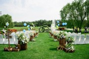 中西结合的婚礼现场该怎么布置?