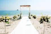 海滩结婚典礼