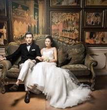 新婚快乐 敬祝你们百年好合